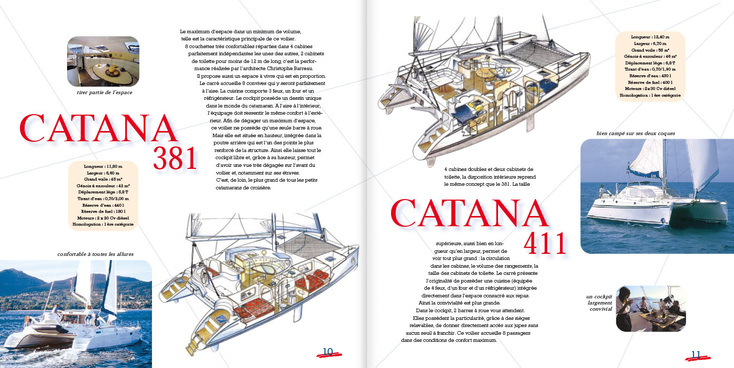 © Thierry Palau - Brochure Catana Location