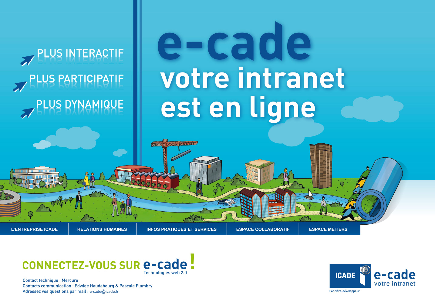 © Thierry Palau & SQLI - Création affiche Icade